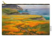 Point Lobos Poppies Carry-all Pouch