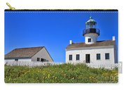 Point Loma Lighthouse By Diana Sainz Carry-all Pouch