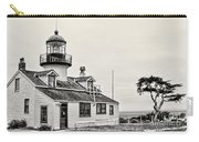 Point Pinos Lighthouse By Diana Sainz Carry-all Pouch