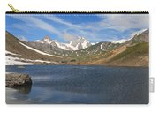 Pointe Rousse Lake - Vertical Composition Carry-all Pouch