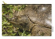 Pointed Nose Florida Softshell Turtle - Apalone Ferox Carry-all Pouch