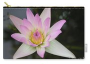 Pointed Pink Lily Carry-all Pouch