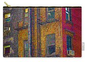 Pointillism In Steel And Brick Carry-all Pouch