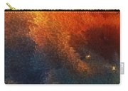 Points Of Light Abstract Art By Sharon Cummings Carry-all Pouch by Sharon Cummings