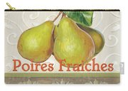 Poires Fraiches Carry-all Pouch by Debbie DeWitt