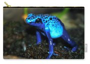 Poison Blue Dart Frog Carry-all Pouch