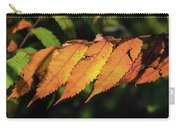 Poison Sumac Golden Kickoff To Fall Colors Carry-all Pouch