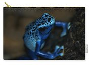 Poisonous Blue Frog 02 Carry-all Pouch