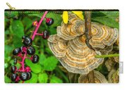 Poke And Bracket Fungi Carry-all Pouch