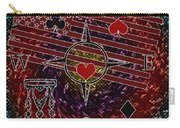 Poker Addiction Digital Painting Carry-all Pouch