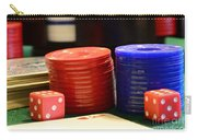 Poker Chips Carry-all Pouch by Paul Ward