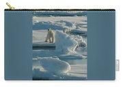Polar Bear And Cub Carry-all Pouch