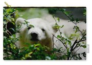 Polar Bear Cub Carry-all Pouch