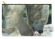 Polar Bear Feeding Carry-all Pouch