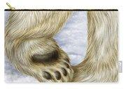 Polar Bear Paw Carry-all Pouch