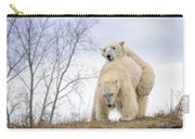 Polar Bear Spring Fling Carry-all Pouch
