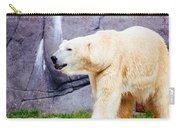 Polar Bear Walking Carry-all Pouch