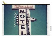 Polaroid Transfer Motel Carry-all Pouch by Jane Linders