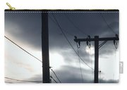 Poles And Sunsets Carry-all Pouch
