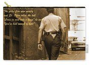 Police Poem Carry-all Pouch