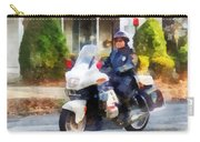 Police - Suburban Motorcycle Cop Carry-all Pouch