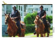 Police - Two Mounted Police Carry-all Pouch