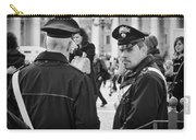 Policemen In Rome Carry-all Pouch