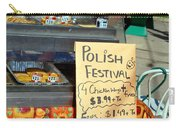 Polish Food Street Stand Carry-all Pouch