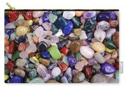Polished Gemstones Carry-all Pouch