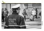 Polizia Roma Capitale Carry-all Pouch