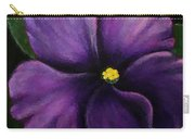 Polka Dot Purple African Violet Carry-all Pouch