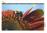 Pollinating Sunflower Seeds Carry-all Pouch