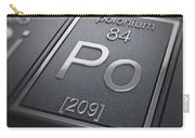 Polonium Chemical Element Carry-all Pouch