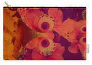 Polyanthus Spiral Carry-all Pouch by Nancy Pauling