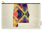 Polygon Mosaic Parchment Map Alabama Carry-all Pouch