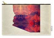 Polygon Mosaic Parchment Map Arizona Carry-all Pouch