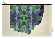Polygon Mosaic Parchment Map Ohio Carry-all Pouch