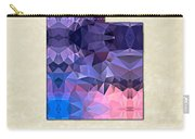 Polygon Mosaic Parchment Map Utah Carry-all Pouch