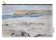 Polzeath And Pentire Head Carry-all Pouch