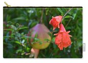 Pomegranate Blossom Carry-all Pouch
