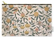 Pomegranate Design For Wallpaper Carry-all Pouch by William Morris