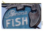 Pomona Fish Market Sign Carry-all Pouch