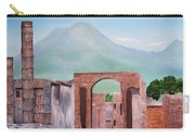 Pompeii And Vesuvius   Carry-all Pouch