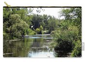 Pond At Tifft Nature Preserve Buffalo New York  Carry-all Pouch