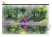 Pond Fishing Photo Art Carry-all Pouch