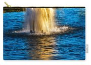 Pond Fountain Carry-all Pouch by Robert Bales