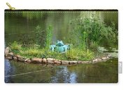 Pond Frog Carry-all Pouch