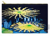 Pond Lily Pad Abstract Carry-all Pouch