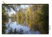 Pond Reflection At Limehouse Ontario Carry-all Pouch