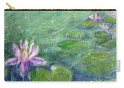 Green Pond With Water Lily Carry-all Pouch
